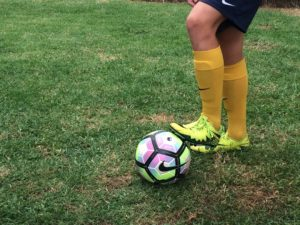 Soccer Drills, Trapping ball