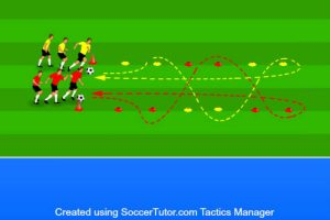 head up dribble race